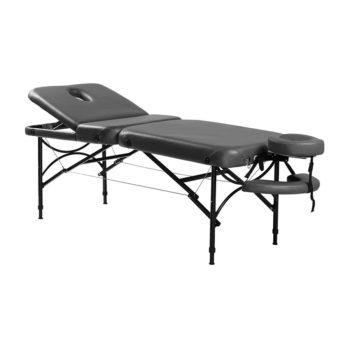 Table de massage avec appuis bras suspendus, légère et pliante pour le transport
