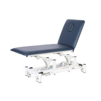 Table de massage noir ou bleu avec réglage hauteur électrique
