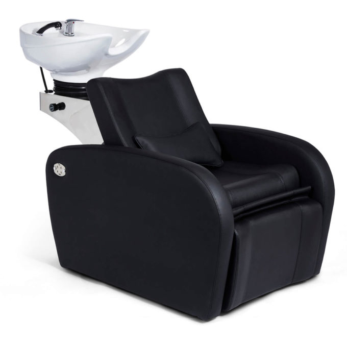 bac à shampoing plusieurs positions avec repose jambes et dossier électriques