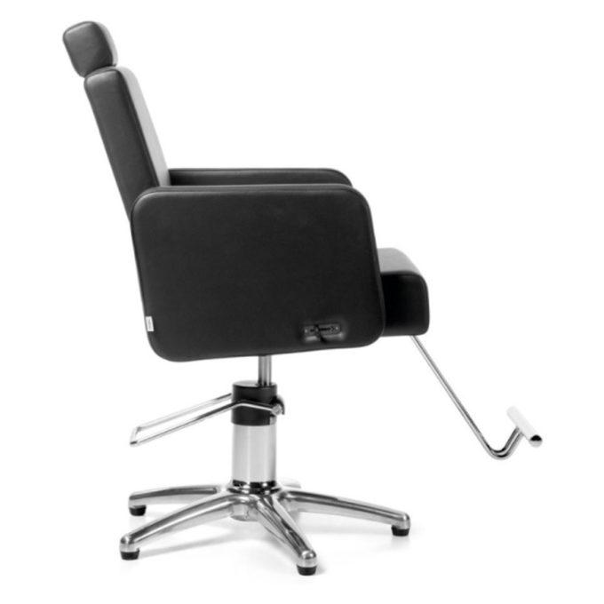 fauteuil avec repose-tête et repose-pieds