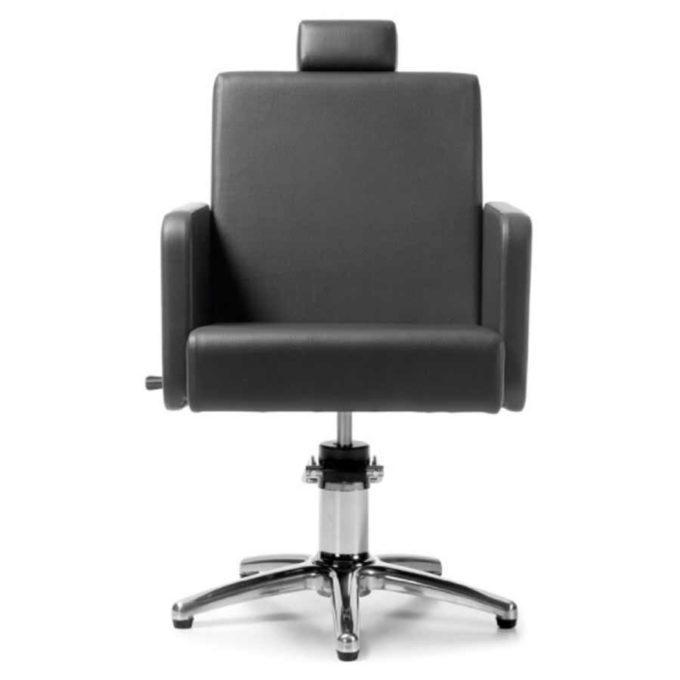 fauteuil de barbier avec pied étoile