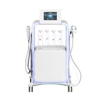 Colonne aqua clean, radiofréquence, ultrasons, marteaux chaud et froid, soins du visage et corps, institut beauté