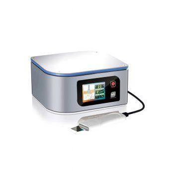 appareil esthétique exfoliant avec spatule ultrasonique, utilisé pour le traitement de l'acné et imperfections