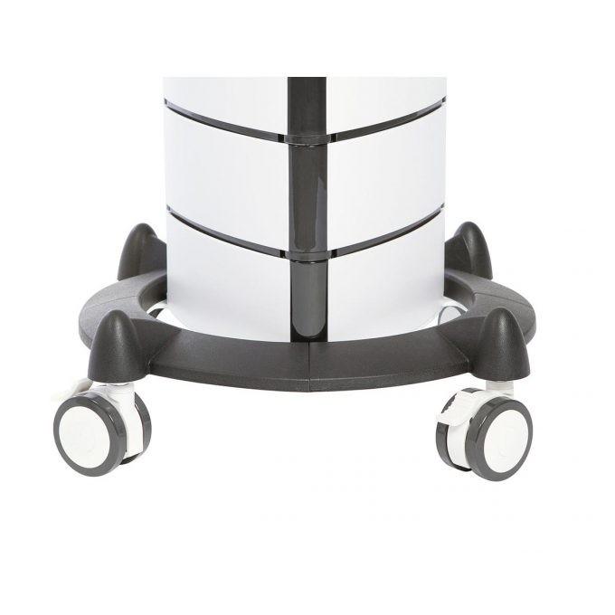 colonne sur roulettes d'eshtétique