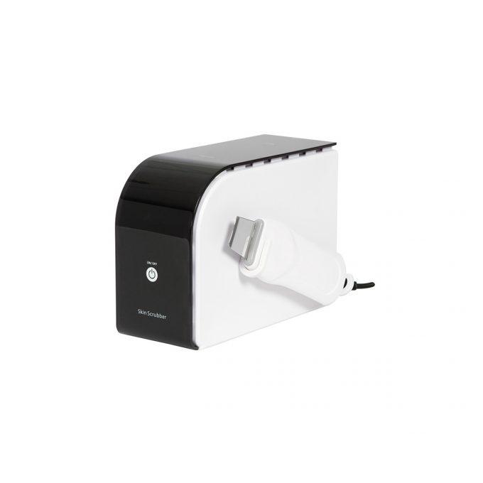appareil esthétique exfoliant avec spatule, épurateur ultrasonique, est utilisé pour le traitement de l'acné et imperfections