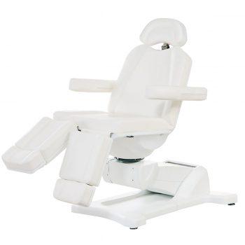 fauteuil de pédicure et esthétique 5 moteurs, position Trendelenburg