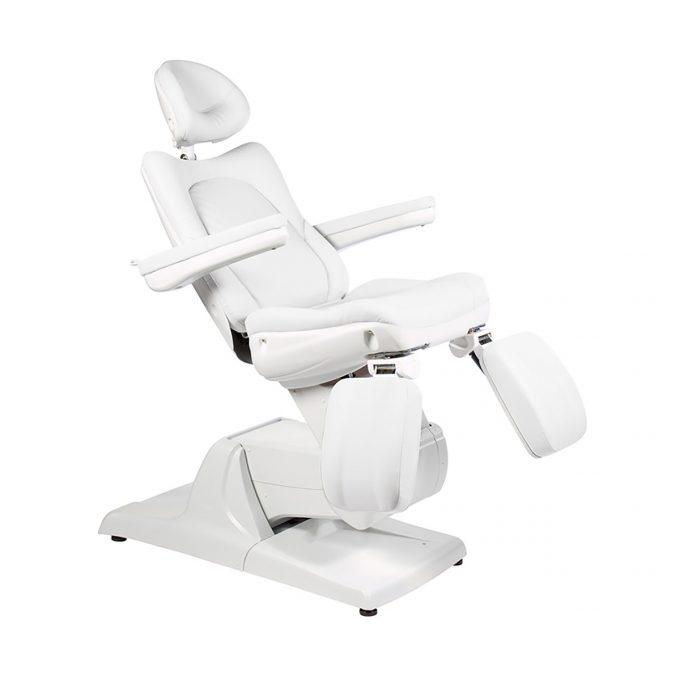 fauteuil de pédicure blanc électrique