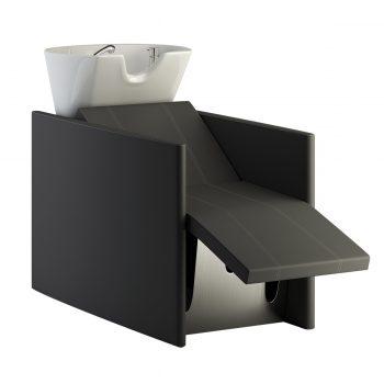 bac à de lavage avec repose jambes électrique, massage, position lit