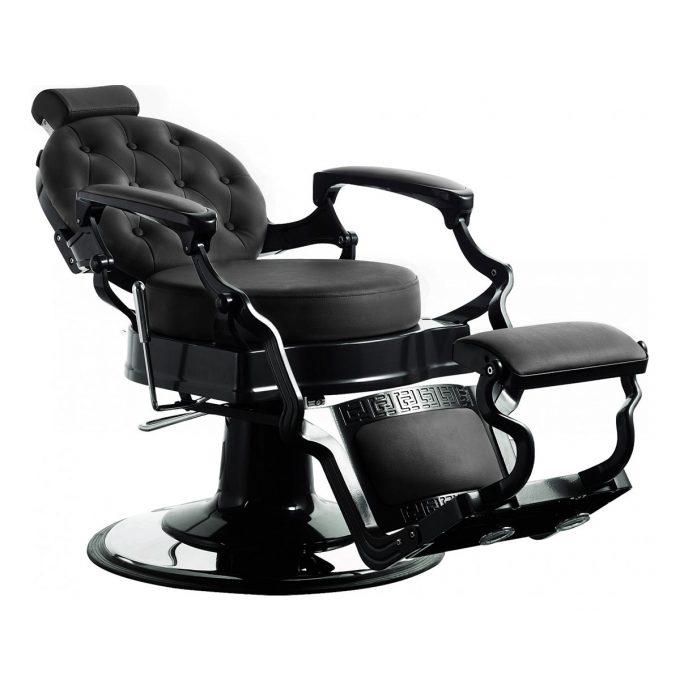fauteuil rétro noir inclinable