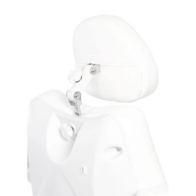 fauteuil d'esthétique avec 5 moteurs blanc et confortable, résistant