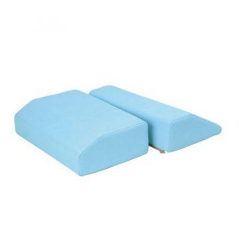 Coussin en forme de trapèze Ecopostural pour massage et détente