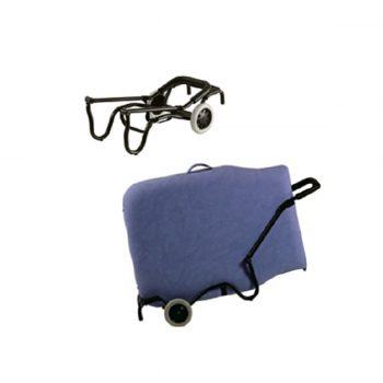 charrette de transport pour table de massage pliante