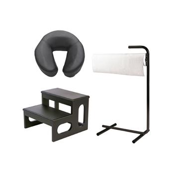Accessoires tables de massage