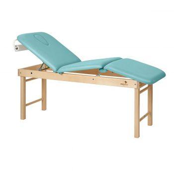 table de massage 3 plans en bois avec cavité faciale