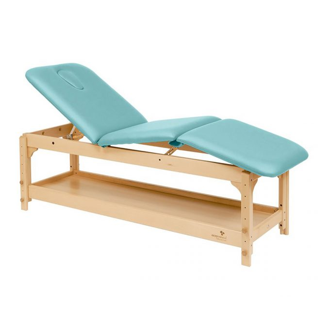 table de massage 3 plans Ecopostural en bois