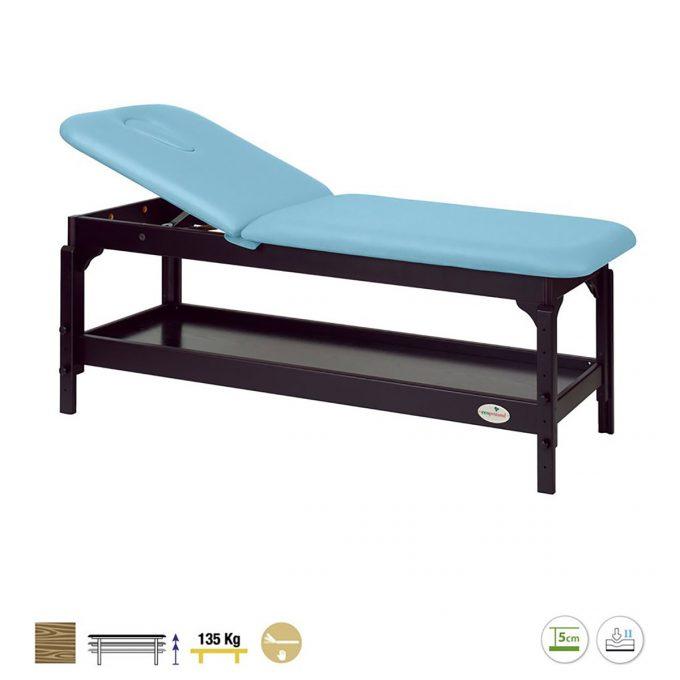 Table de massage 2 plans Ecopostural en Wengé
