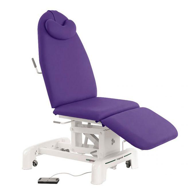 fauteuil esthétique ecopostural iris avec moteur électrique