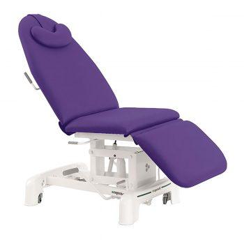 Fauteuil hydraulique de soin médicaux et esthétiques ecopostural couleur iris