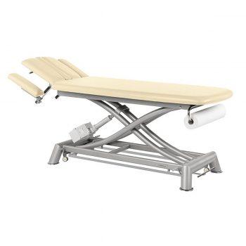 table de massage ecopostural électrique avec moteur rapide et porte rouleau inclu