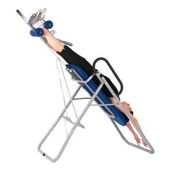 Table d'inversion Ecopostural réduit la cellulite, soulage les douleurs dorsales, structure en aluminium